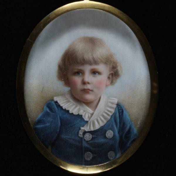 Exceptional miniature of Young Boy